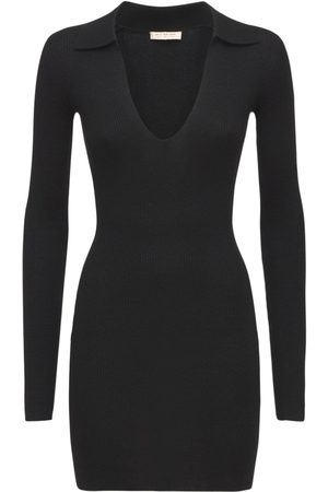 Bec & Bridge Freya Knit Polo Mini Dress