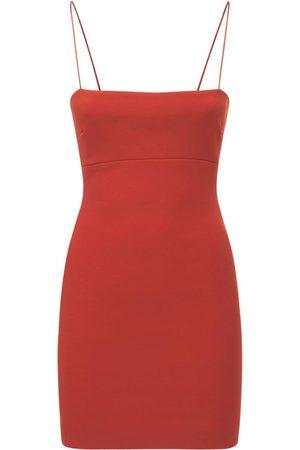 Bec & Bridge Women Party Dresses - Maya Crepe Mini Dress