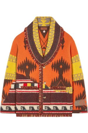 Alanui Men Cardigans - Over The Andes Knit Cardigan