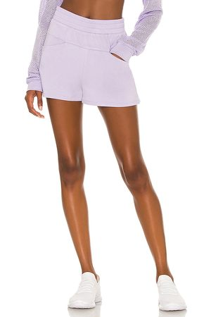 ALALA Plie Short in Lavender.