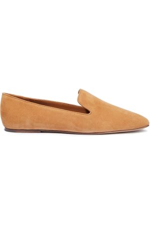 Vince Woman Clark Suede Loafers Camel Size 10