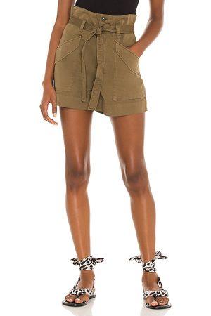 RAG&BONE Women Shorts - Field Cargo Short in Olive.
