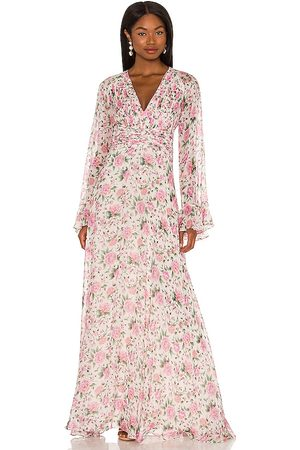 AMUR Ros Gown in Pink.