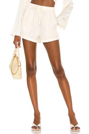 Lovers + Friends Women Shorts - Breanne Short in Ivory.