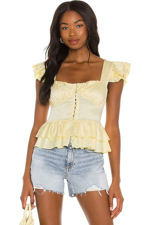 OW Intimates Misty Top in Yellow.