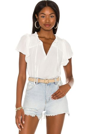 1. STATE Flutter Sleeve Blouse in .