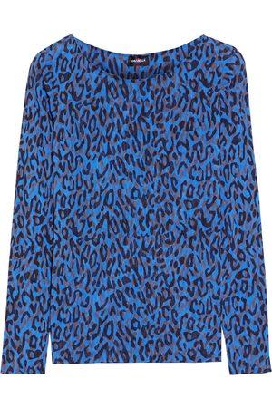 Cosabella Women Pajamas - Woman Soire Instinct Leopard-print Stretch-mesh Pajama Top Size L