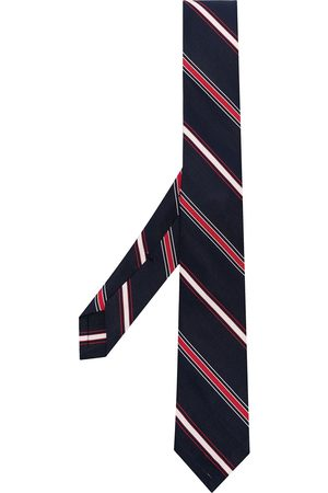 Thom Browne Diagonal stripe patterned tie