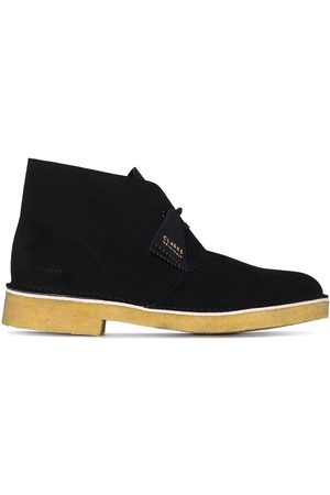 Clarks Men Lace-up Boots - Wallabee suede Desert boots
