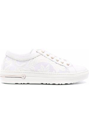 BALDININI Leather low-top sneakers