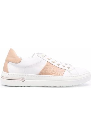 BALDININI Colour-block leather sneakers