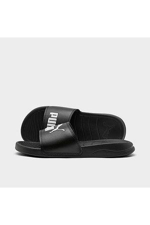 PUMA Sandals - Big Kids' Popcat 20 Slide Sandals in / Size 4.0 Leather