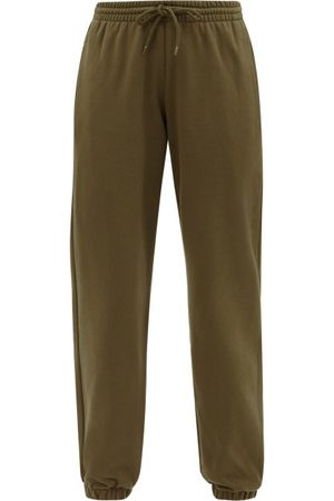 WARDROBE.NYC Cotton-jersey Track Pants - Womens - Dark