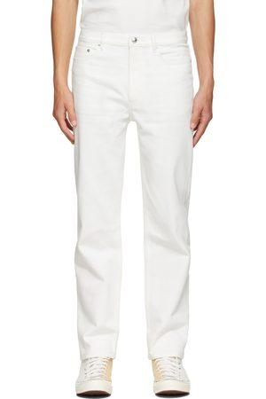 A.P.C. White Martin Denim Jeans