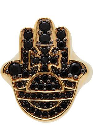 Vivienne Westwood Gold & Black Rojava Ring