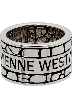 Vivienne Westwood Silver Valerio Band Ring