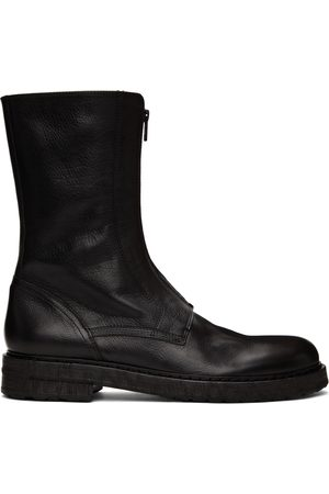 Ann Demeulemeester Front Zip Boots