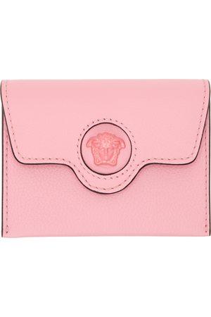 VERSACE Pink 'La Medusa' Wallet