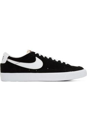 Nike Black & White Blazer Low '77 Sneakers