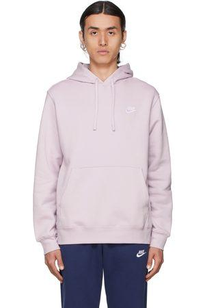 Nike Purple Fleece Sportswear Club Hoodie