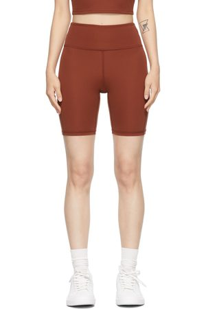 LACAUSA Burgundy Warm Up Shorts