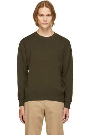 Norse Projects Green Compact Cotton Raffo Sweater