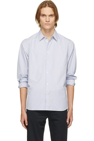 Norse projects Blue Classic Stripe Hans Shirt