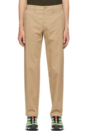 Norse projects Beige Regular Light Stretch Aros Trousers