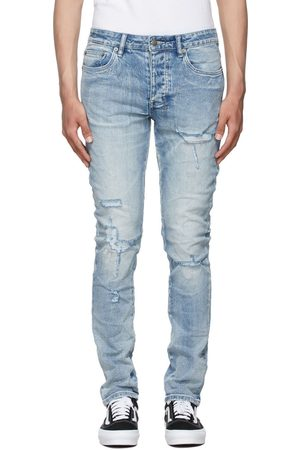 KSUBI Blue Chitch Thrashed Jeans