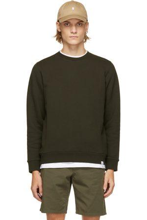 Norse Projects Green Vagn Classic Crewneck Sweatshirt