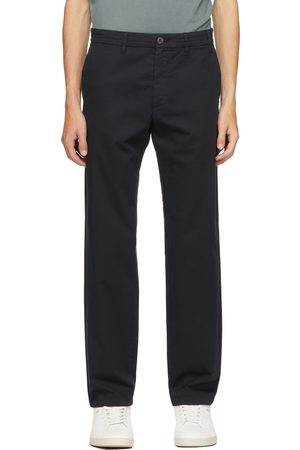 Norse Projects Navy Regular Light Stretch Aros Trousers