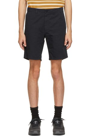Norse Projects Navy Twill Aros Shorts