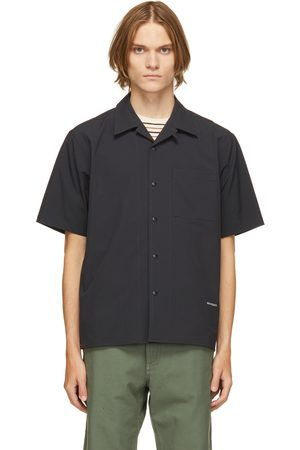 Norse projects Navy Carsten Quickdry WR Short Sleeve Shirt