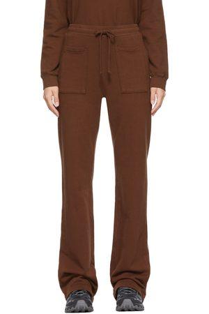 LACAUSA Brown Gia Lounge Pants