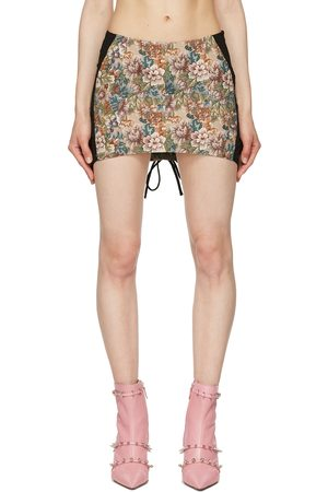 Miaou Multicolor Corset Skirt