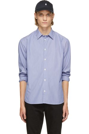 Norse projects Blue & White Stripe Hans Classic Shirt