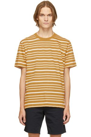 Norse projects Yellow & White Mariner Stripe Johannes T-Shirt