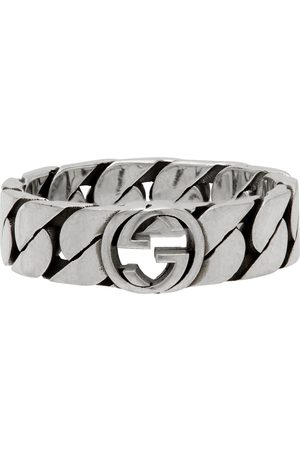 Gucci Thin Chain Interlocking G Ring