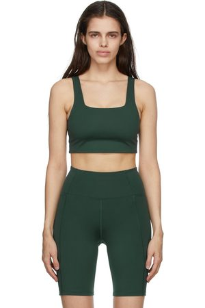 GIRLFRIEND COLLECTIVE Green Paloma Sports Bra