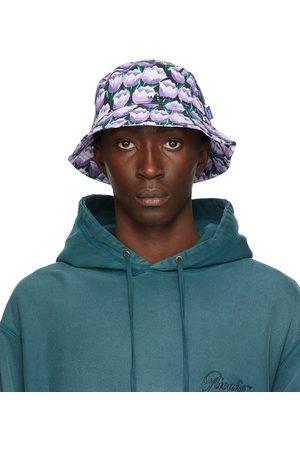 AWAKE NY Purple Floral 'La Comunidad' Bucket Hat
