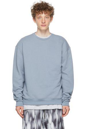 JOHN ELLIOTT Blue Oversized Crewneck Sweatshirt
