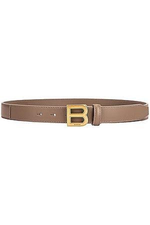 Balenciaga Hourglass Belt in Grey