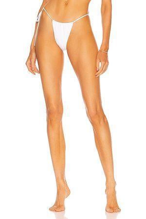 Monica Hansen Beachwear Bond Girl Side Tie String Bottom in
