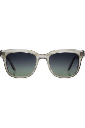 Barton Perreira Men's Chisa 52MM Rectangular Sunglasses - Grey
