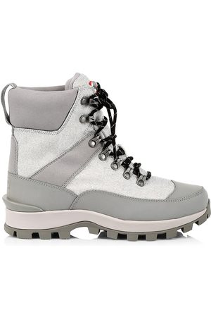 Hunter Glitter Commando Snow Boots