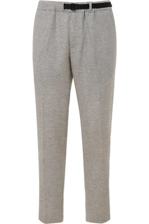 Whitesand 88 Men Sweatpants - Wool Blend Belted Sweatpants