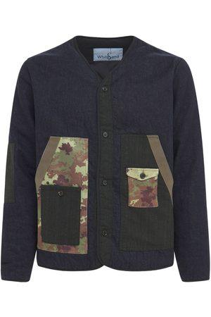 Whitesand 88 Patch Denim Jacket W/contrast Pockets