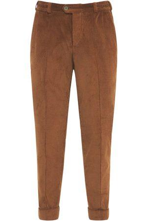 Pantaloni Torino Men Pants - 17cm Corduroy Cotton Rebel Pants