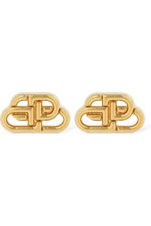 Balenciaga Women Earrings - Bb Xs Mini Logo Stud Earrings