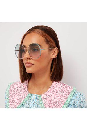 Chloé Women Round - Women's Irene Oversized Round Sunglasses